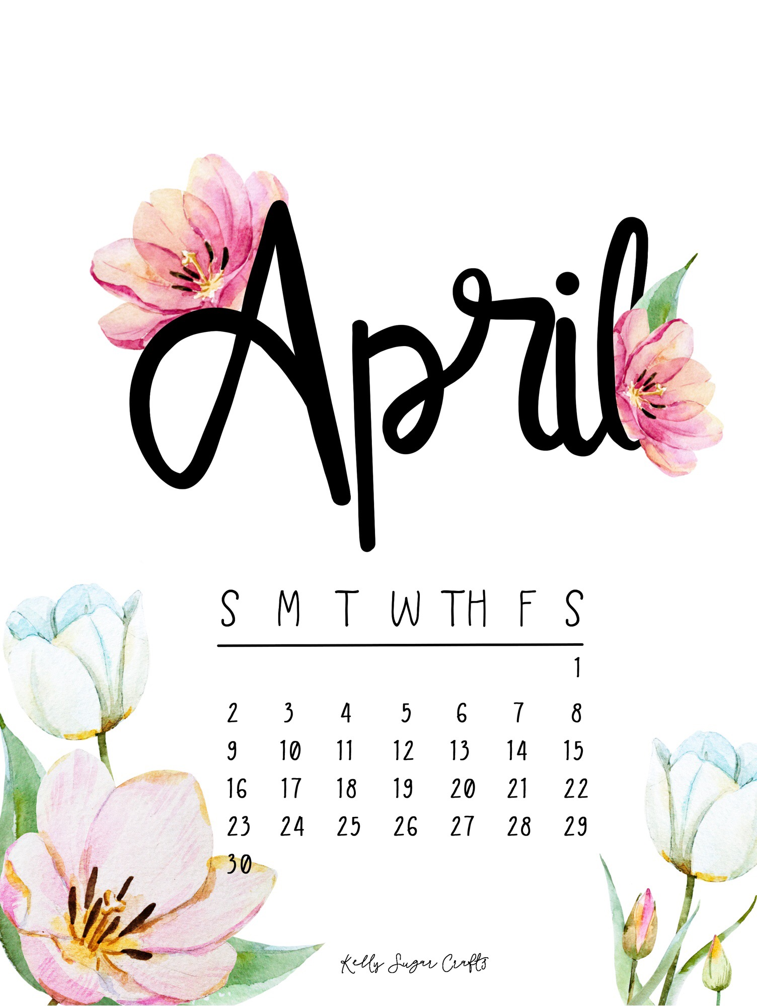 April 2017 Freebies Printable Calendar Wallpapers